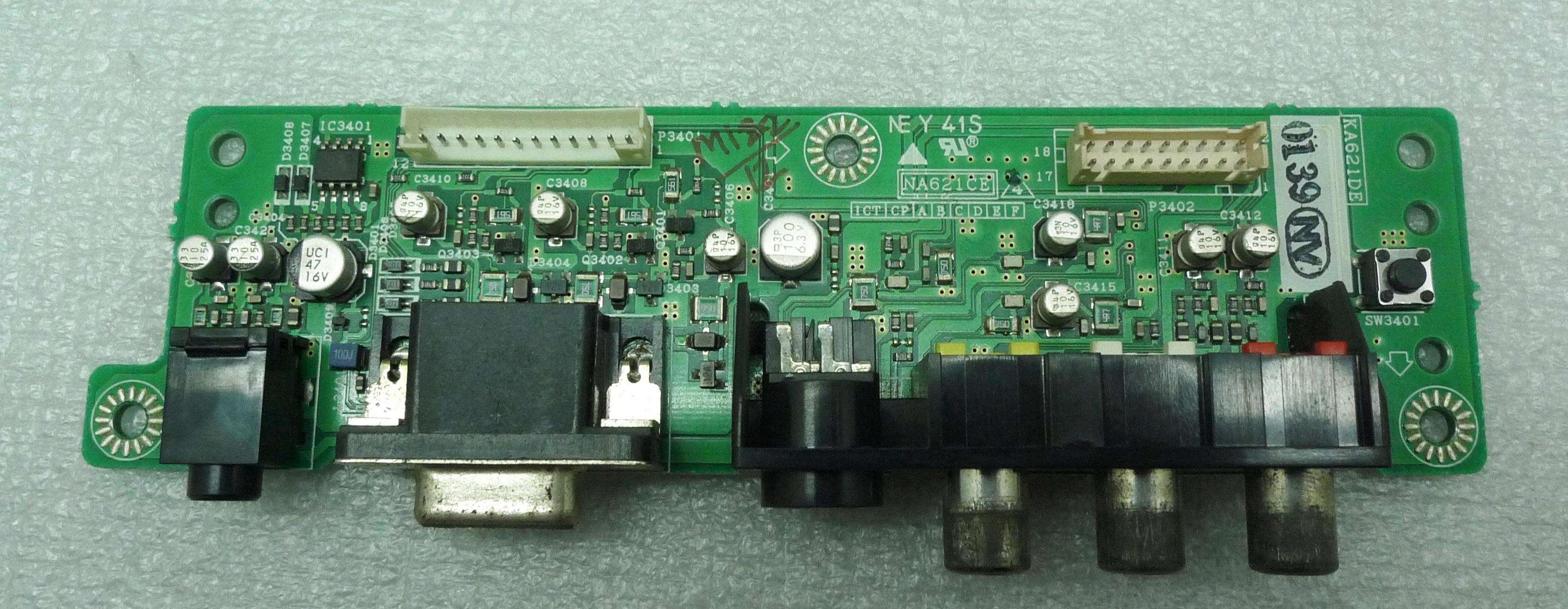 Ka621de Function Control Board Pioneer Pdp R03g