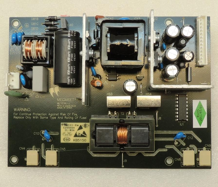 MLT019L-J Power Board Videocon - NarayaniTech com