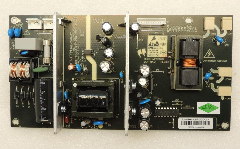 Mp02020 Power Board Videocon Vu224ld Narayanitech Com