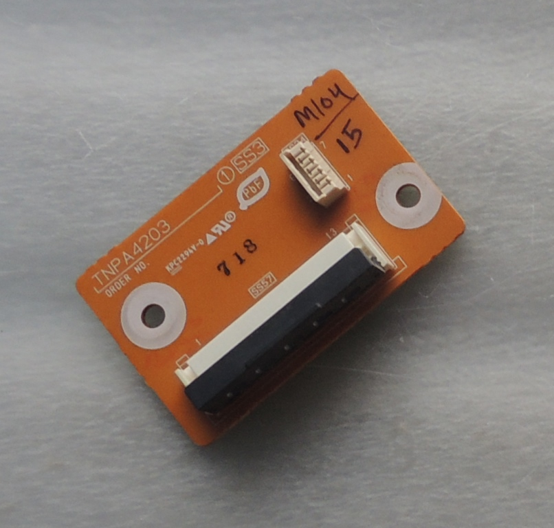 Panasonic TNPA4203 SS3 Board TH-50PV70H