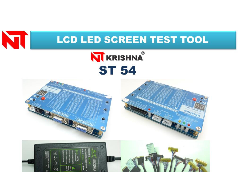 LCD LED TV SCREEN TEST TOOL KRISHNA ST-54