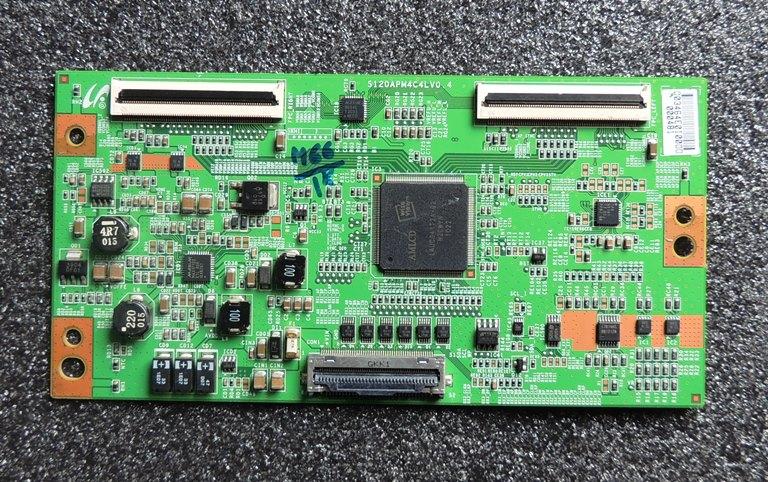 S120apm4c4lv0 4 T Con Board Samsung Ln55c750