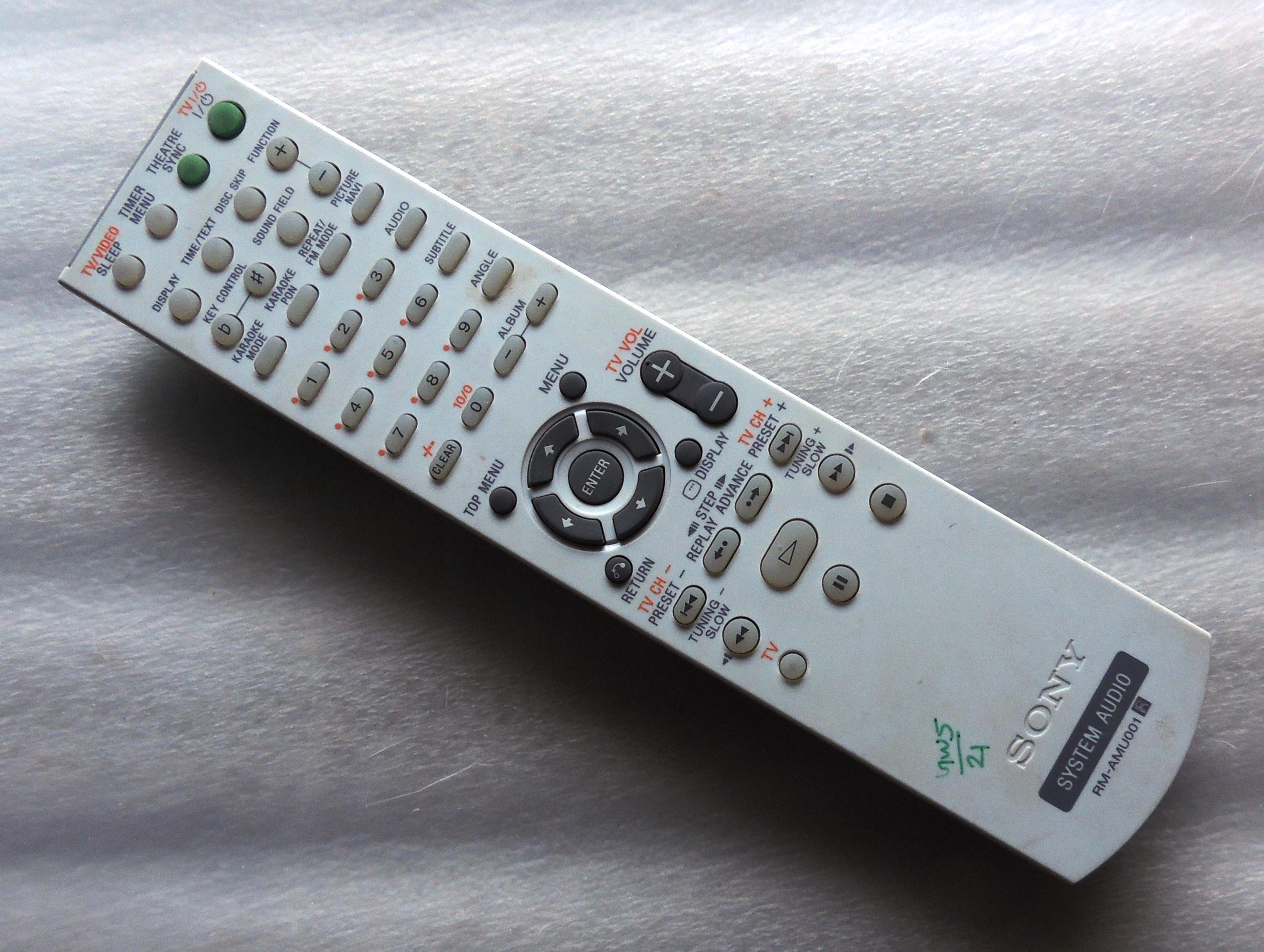 Remote Unit Sony DVD Player Archives - NarayaniTech.com